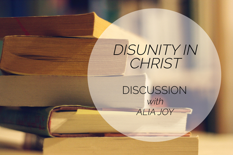Disunity in Christ: A She Loves Book Club Discussion