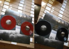 Coloured and black Vinyl