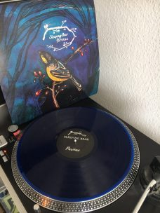 Sleeping Bear Cover and LP blue vinyl