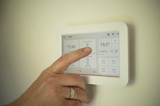エアコンの温度調節