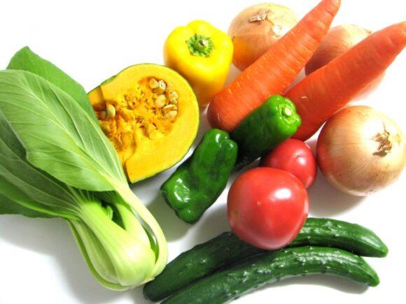 ビタミンが豊富な野菜
