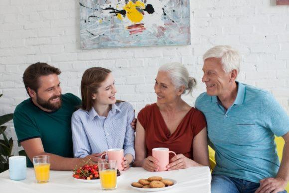 夫婦と義両親