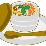 "<span class=""title"">茶碗蒸しはどんぶりと鍋で!簡単な作り方</span>"