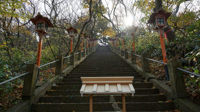 Narui.my 青森県 高山稲荷神社 100段