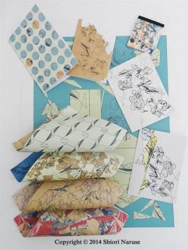 Gift board-geometric bark
