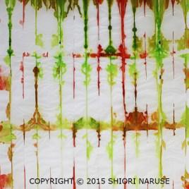 Shibori Dyed Paper