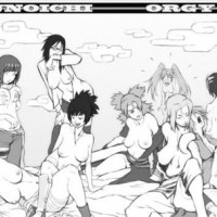 A Kunoichi orgy including all the hottest women of the Leaf - it's everything Naruto has wanted... too bad he wasnt invited to join!