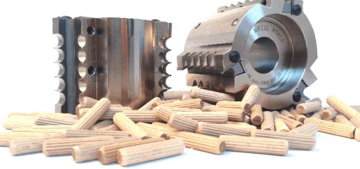 Głowice nasadzane do kołków drewnianych