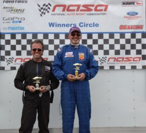 Jeff and Hal on the Podium in April 2015