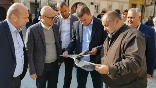 Knežević obišao rekonstruisane saobraćajnice na Petrovaradinu, radovi od 125 miliona dinara 1