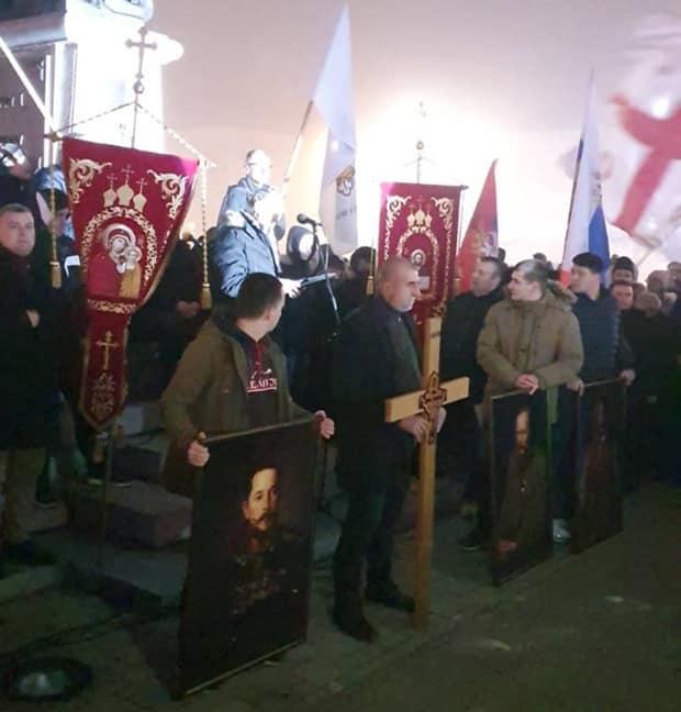 BIJELJINA: Molebanom i litijom pruža podršku Srbima u Crnoj Gori 1