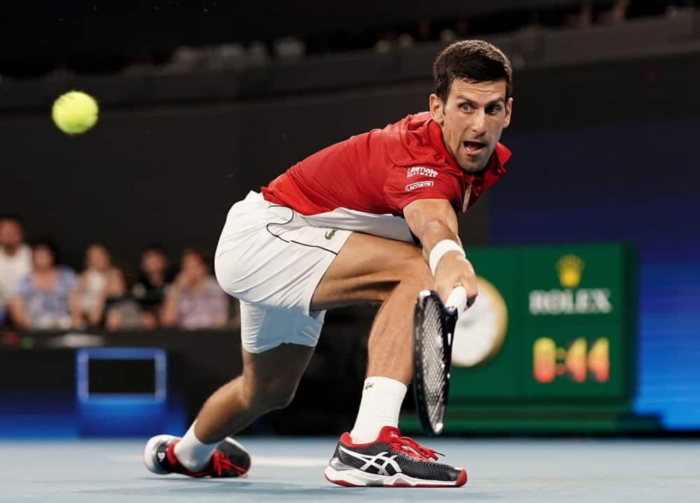 Novak pobedom nad Monfisom ostavio Srbiju u igri! Sve će se odlučivati u dublu! (VIDEO) 1