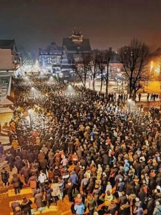 NA LICU MESTA: Fotografije sa protesta u Crnoj Gori 4