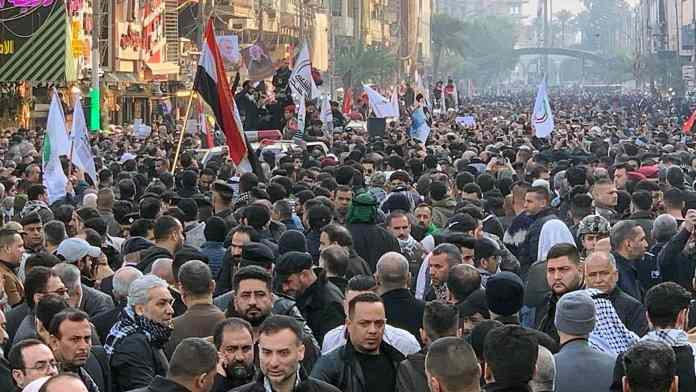 UŽAS: Hiljade ljudi oplakuje iranskog generala i zamenika šefa iračke policije 1
