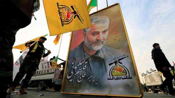 UŽAS: Hiljade ljudi oplakuje iranskog generala i zamenika šefa iračke policije 2