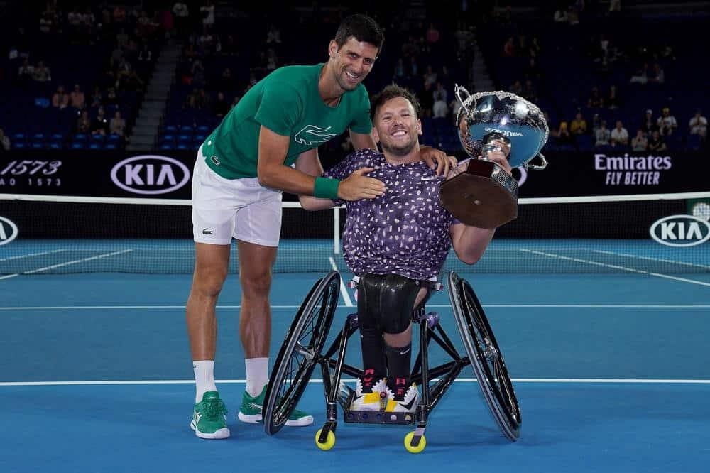 VELIKI SI ČOVEK NOVAČE: Srbin čestitao trofej kolegi u kolicima, odgovor Australijanca nasmejao mnoge! (VIDEO) 3