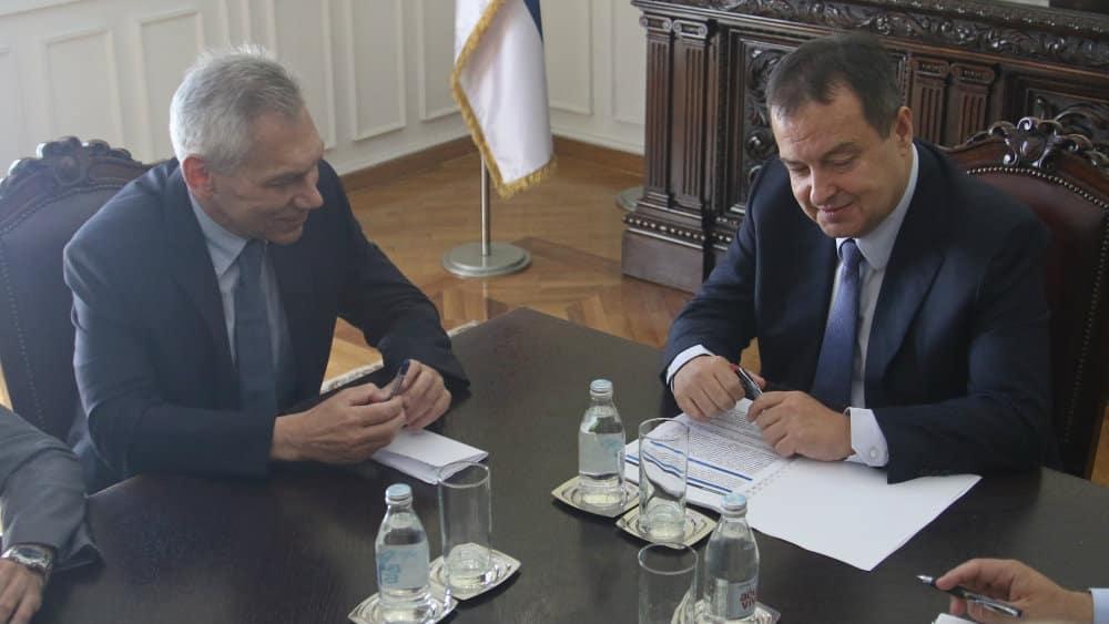 DAČIĆ I HARAČENKO: Obnavljanje bilateralnih poseta i nastavak saradnje 1
