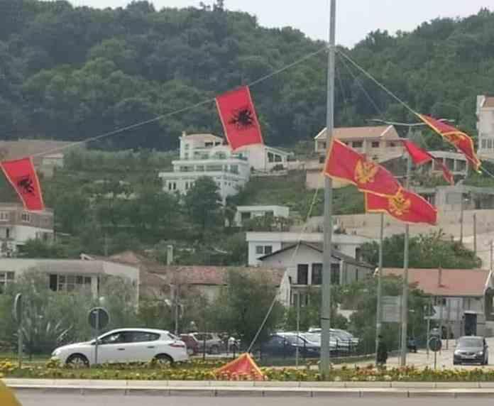 """CRNA GORO ŠTA SI DOČEKALA: Da li je ovo """"državna"""" zastava 1"""