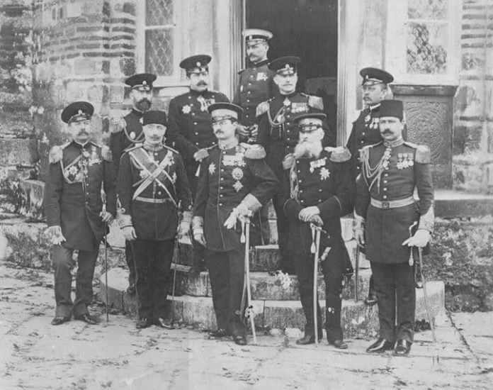 "Alt=""Delegacija Kraljevine Srbije"""