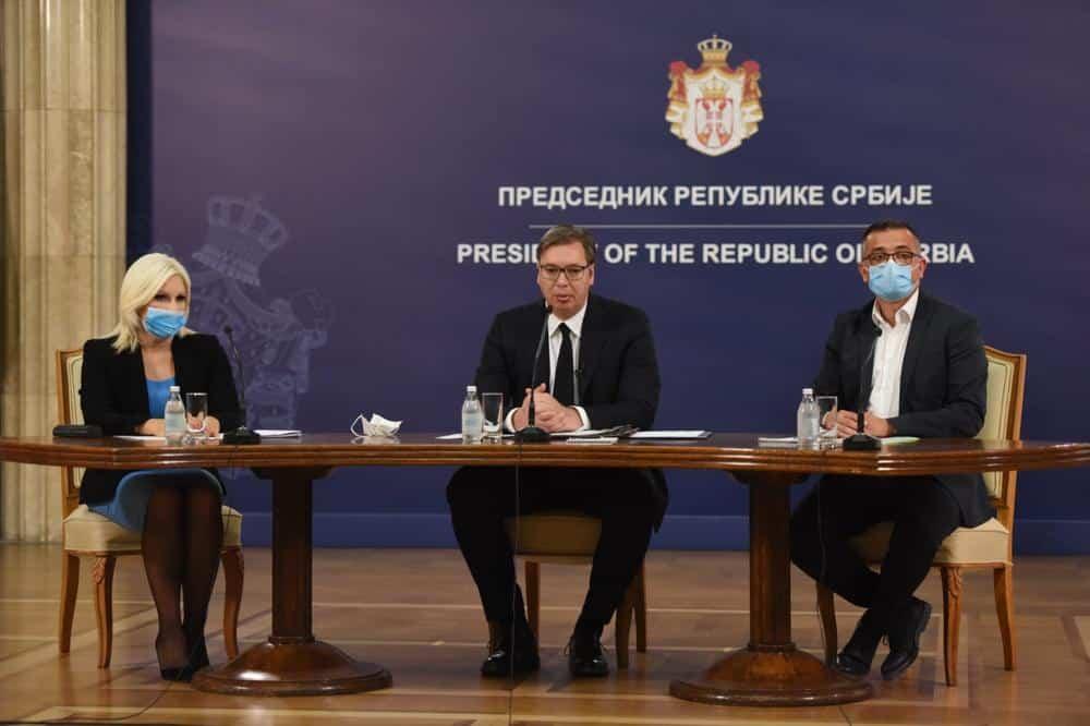 SLEDE PROMENE? Vučić na konferenciji za novinare Kriznog štaba 1