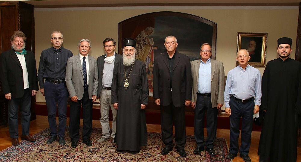 PREOKRET?Patrijarh primio predstavnike Pokreta za odbranu Kosova i Metohije 1