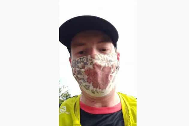 Doktor trčao 35 km sa maskom da sruši najveću laž pandemije 1