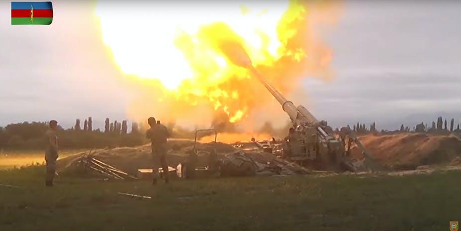 (UŽIVO)DETALJNO IZ NAGORNO-KARABAHU: Poginulo 200 Azerbejdžanskih i 17 Jermenskih vojnika! 1