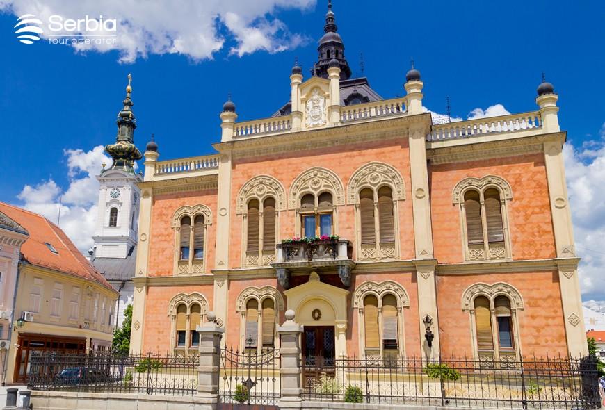 DRUGOSRBIJANSKI ŠLJAM: Napali vladiku što renovira dvor, a smeta im i Stefan Nemanja! 1