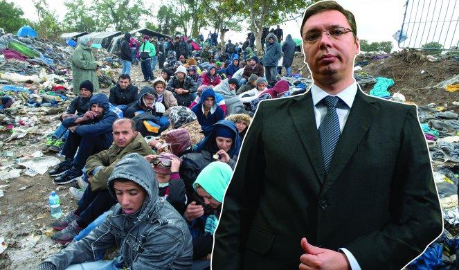 Vučić hoće da nas pobije i zameni migrantima 1