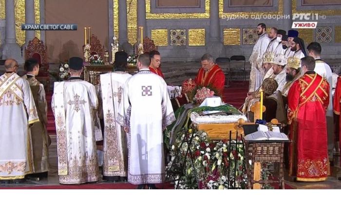 (UŽIVO) SAHRANA PATRIJARHA IRINEJA: Episkop prozvao LAŽNU ELITU! 1