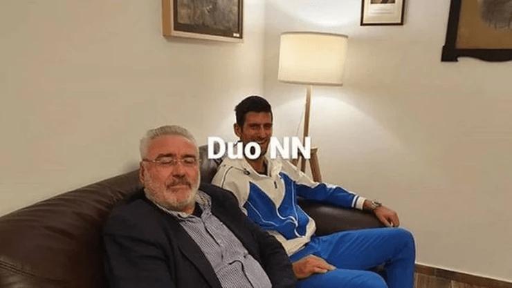ZAJEDNIČKI PROJEKAT: Nole se sastao sa Nestorovićem! 1