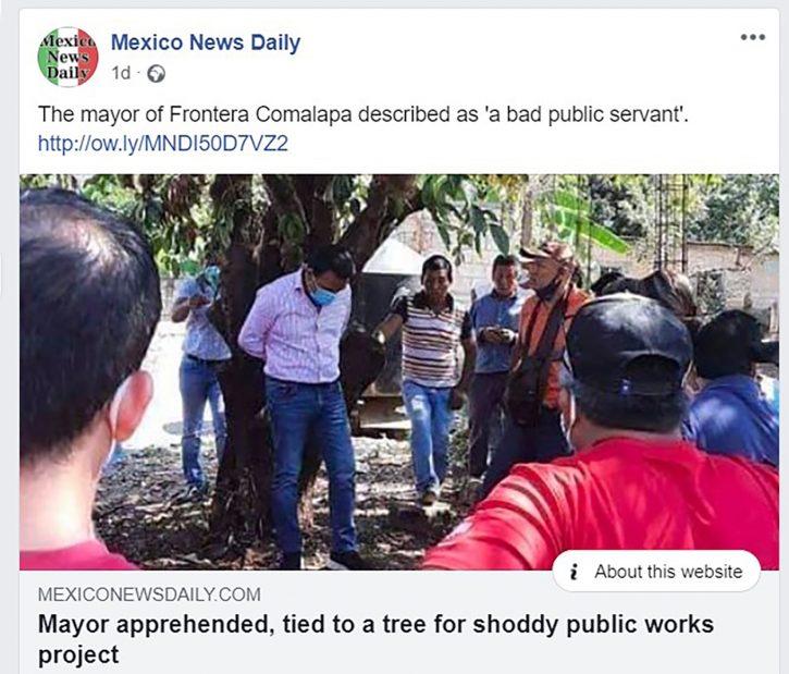 OPŠTA POBUNA: Vezali gradonačelnika za drvo! 1