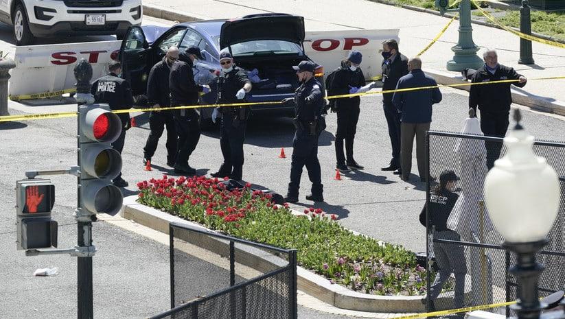 LUDILO KOD KAPITOL HILA: Probijena barikada, policajac poginuo 1