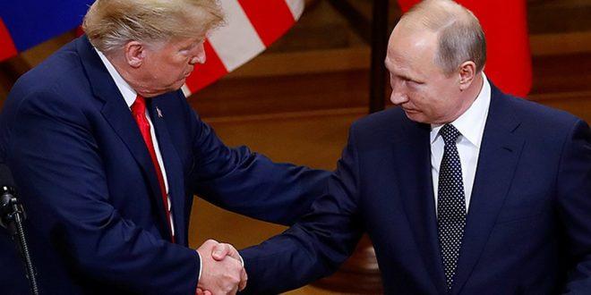 TRAMP IZ SENKE PORUČUJE: Amerika treba da sarađuje sa Rusijom, meni se Putin dopadao! 1