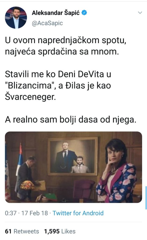 SANDULOVIĆ PRVI OTKRIO: Šapić i Vučić imali SEKS, OBAVEŠTAJNA ZAJEDNICA ZGROŽENA, POČINJE SVRGAVANJE VUČIĆA! 4