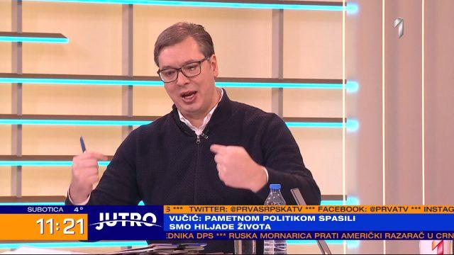 VUČIĆ PROGOVORIO: Uhapsiću Stefanovića ako me je prisluškivao, to je zločin, to je državni udar! 1