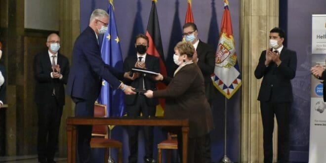 Vučiću, šta piše u ugovoru ili sporazumu koji je potpisan sa nemačkom Bizerbom? 1