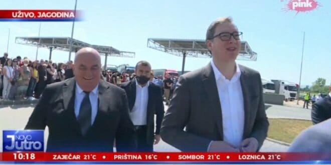 BUNGA BUNGA: Vučić došao u Jagodinu i otvoreno dao Palmi podršku što je bungao devojčice! 1