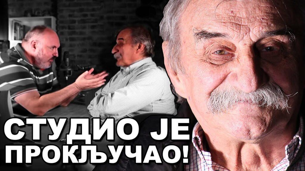SVAĐA U STUDIJU: Ljubiša Ristić napadnut od strane voditelja, voditelj mrzi komunjare i Jugoslovene! 1