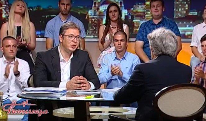 VUČIĆ SE RASPLAKAO, MARIĆ GA IZBACIO IZ STUDIJA: Optužio Amerikance i saradnike da ga prate! 1