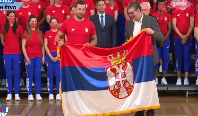 VUČIĆ PRIPREMA TEREN ZA IZDAJU: Traži od srpskih sportista da ne napuštaju postolje i da igraju protiv lažne države Kosovo u Tokiju! 1