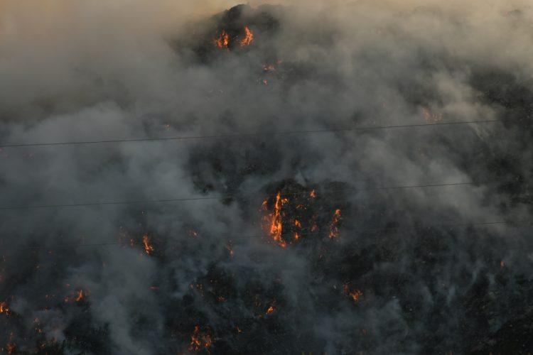 SRBIJA U PLAMENU: Gori deponija i u Novom Sadu! (VIDEO) 1