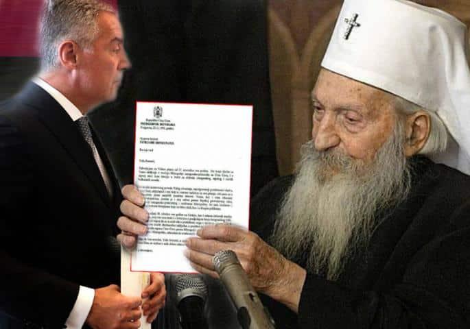 PUČINA JE STOKA JEDNA GRDNA: Ovako je Milo Đukanović pisao Patrijarhu Pavlu! 1