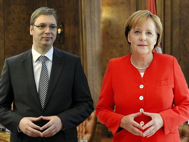 VUČIĆ NASTAVLJA IZDAJU KOSMETA I PRAVLJENJE VELIKE ALBANIJE: Merkel 14. septembra u Albaniji sa Vučićem, Ramom i Kurtijem 1