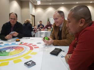 NASAGANs playing board games at the annual conference