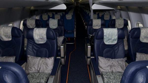 Самолет Сухой Суперджет 100 95 схема салона технические