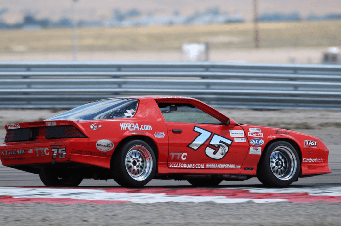 It was good to be David Schotz at this year's National Championships. In addition to his wins in PTB and TTB, he also won TTC. He jumped in the No. 75 Chevrolet Camaro to set the fast lap at 2:13.170. Brad Kettler took second in his BMW M3, just over .500 seconds behind Schotz with a 2:13.681. Mark Melchior piloted his Honda S2000 to a third-place spot in TTC with a 2:14.979.