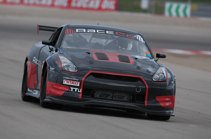 Call Kyle Schick's car the silent killer. With his Nissan GTR, Schick whooshed to the top spot in the fastest Time Trial class with a 1:55.416. He bested the Subaru-powered Radical of Team Arizona Pain, which came in second with a 1:57.065. Team Greenbaum snared third with a 2:16.242 in their BMW 318ti.