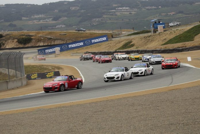 The Mazda Race of NASA Champions also took place at Mazda Raceway Laguna Seca in May.