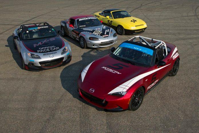 Mazda Media Day at Willow Springs